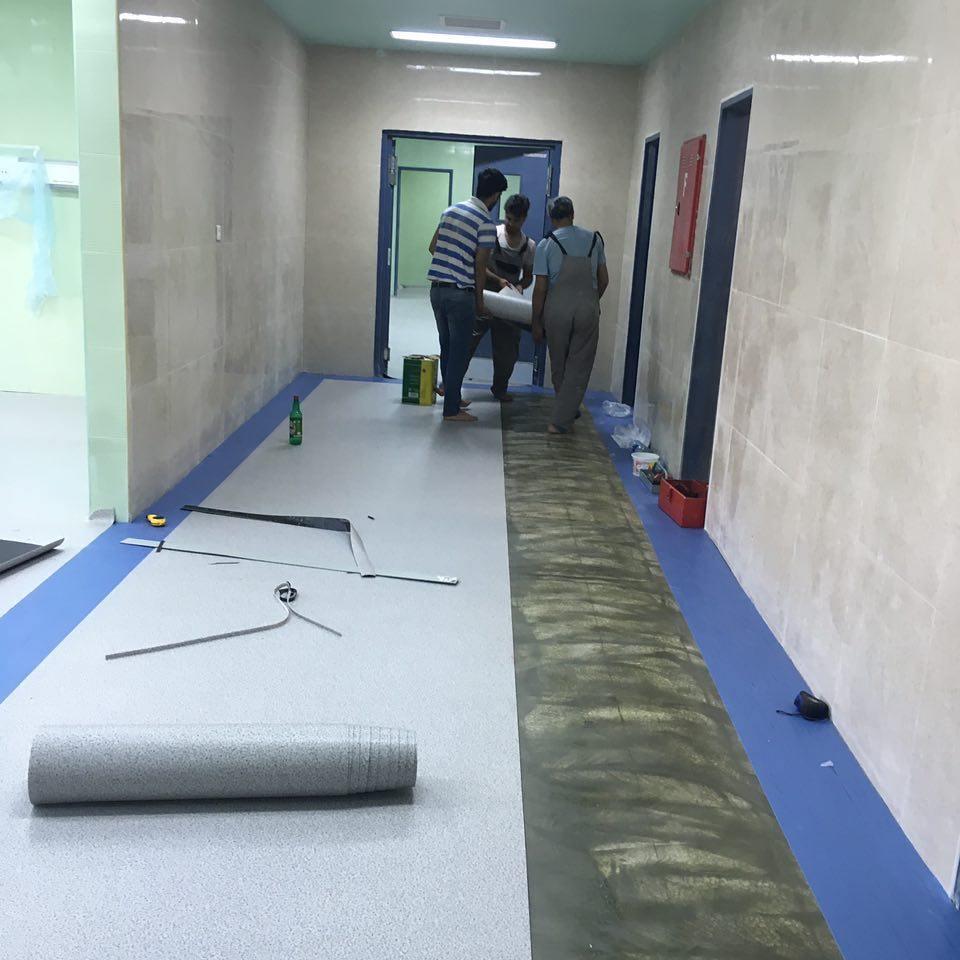 Hospital Flooring Abu Dhabi